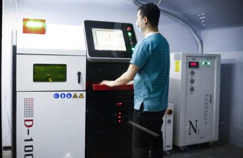 Metal 3D Printing Room
